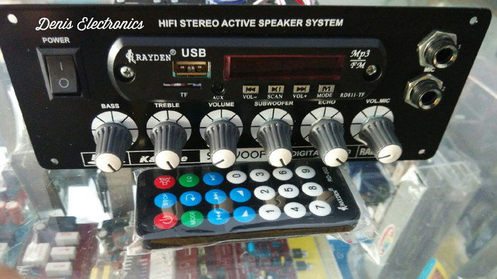Jual Kit Power Amplifier Stereo