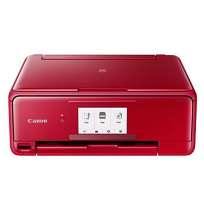 canon inkjet printer multifunction pixma ts8170 - red