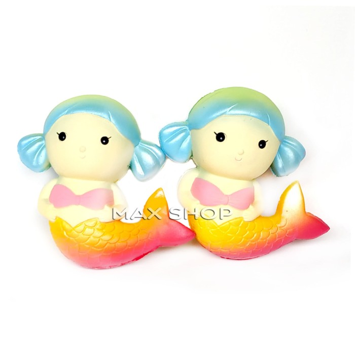 Foto Produk Squishy Murah Galaxy Rainbow Princess Mermaid Medium - Mainan Anak dari MAXSHOP-ONLINE