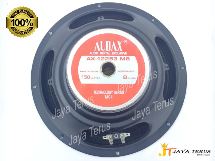 harga Speaker 12 inch audax ax 12253 m8 full range 8 ohms150 watt original Tokopedia.com