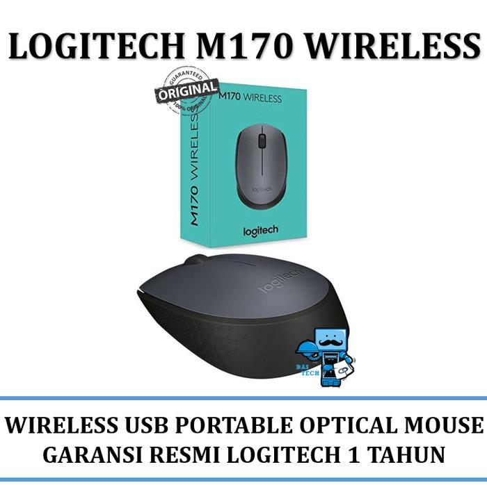 harga Mouse wireless logitech m170 usb compact wireless - original logitech Tokopedia.com