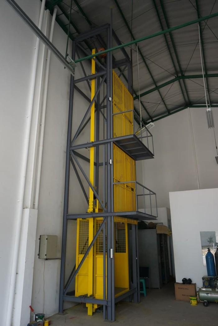 Jual Lift Barang Untuk Ruko Gudang Dan Pabrik Jakarta Barat Lift Barang Jakarta Tokopedia