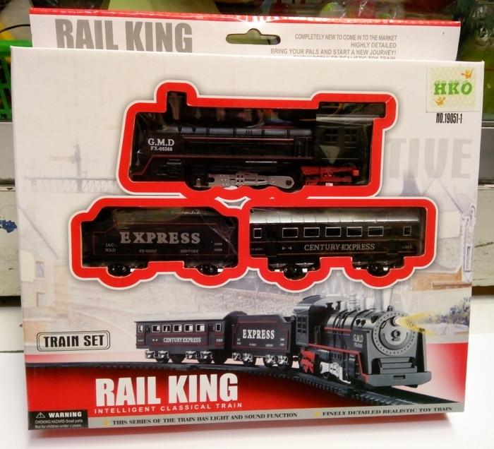 harga Mainan kereta api rail king classical express set ideal track ho 1/87 Tokopedia.com