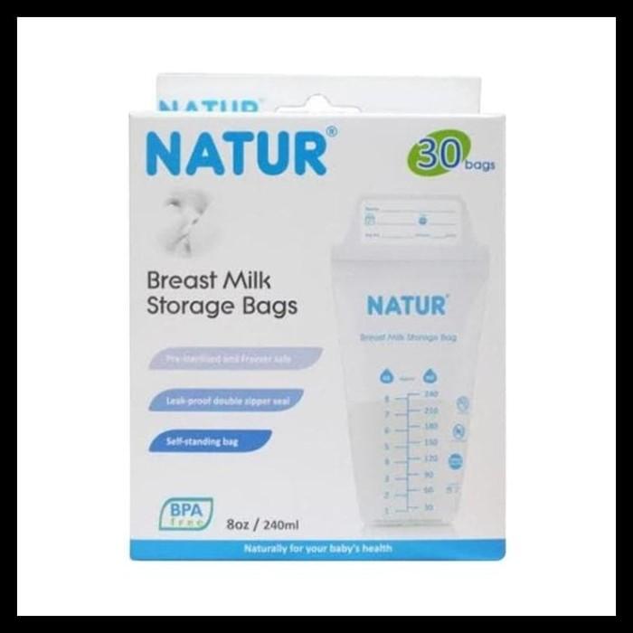 Pusat Distributor Natur Breast Milk Storage Bags (Kantong Asi Isi 30)