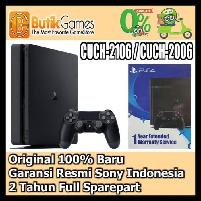 Sony Playstation 4 Garansi Sony 500gb Cuh 1206a Gratis Extra Ps4 Source · Sony Ps4 Slim Playstation 4 Slim 500Gb Cuh 2006A B01