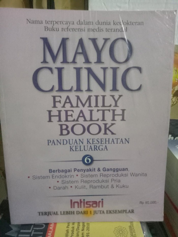 Jual mayo clinic family health book panduan kesehatan keluar Murah - DKI  Jakarta - orange_shop13 | Tokopedia