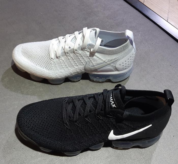 new arrival ae0ef 440fc Jual Nike Vapormax 2.0 FlyKnit Black, Oreo, Blue, Green grey 100% original  - DKI Jakarta - Sam Sneakers | Tokopedia