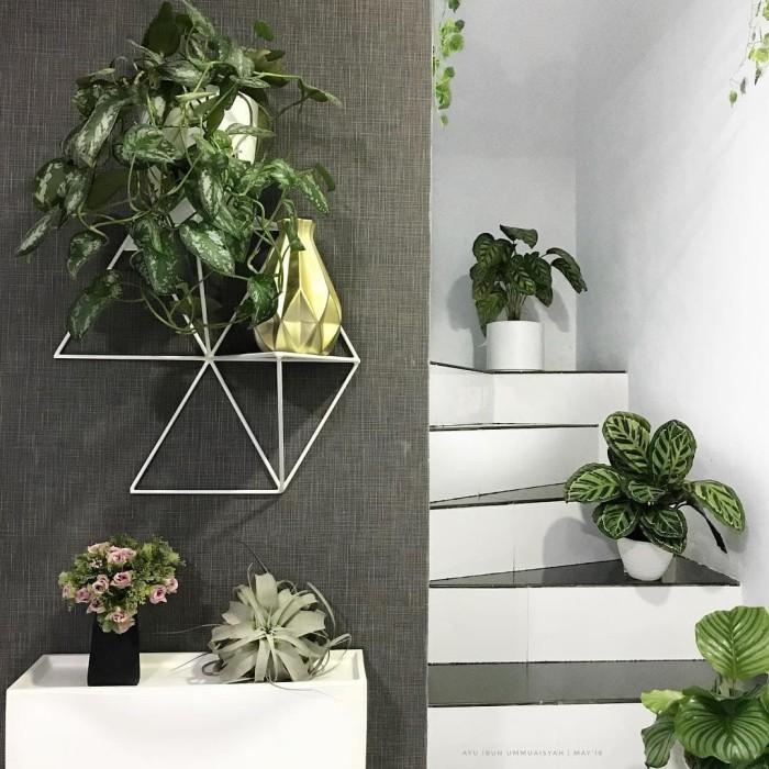 harga Geometric shelves floating - rak ambalan minimalis- pot hiasan dinding Tokopedia.com