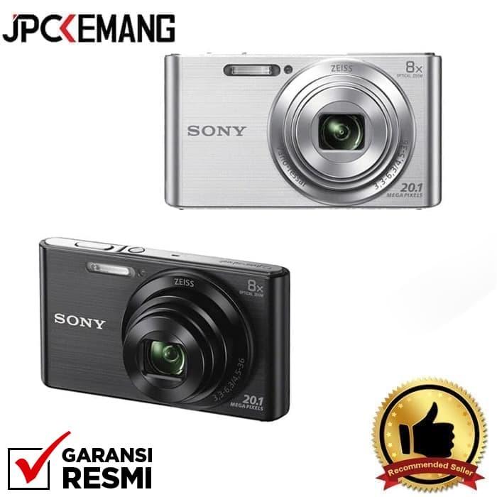 Camera sony cybershot dsc-w830 / w830 / w-830 (silver) kamera -