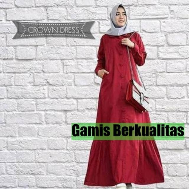 Jual Baju Gamis Maxi Baloteli Crown - Long Dress Murah Berkualitas. Toko  dalam status moderasi 81f332e199