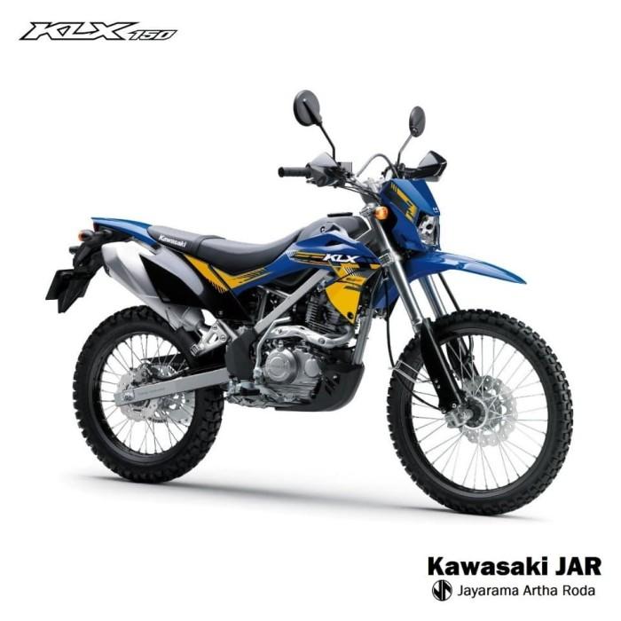 harga Kawasaki klx 150 bf special edition - blue Tokopedia.com