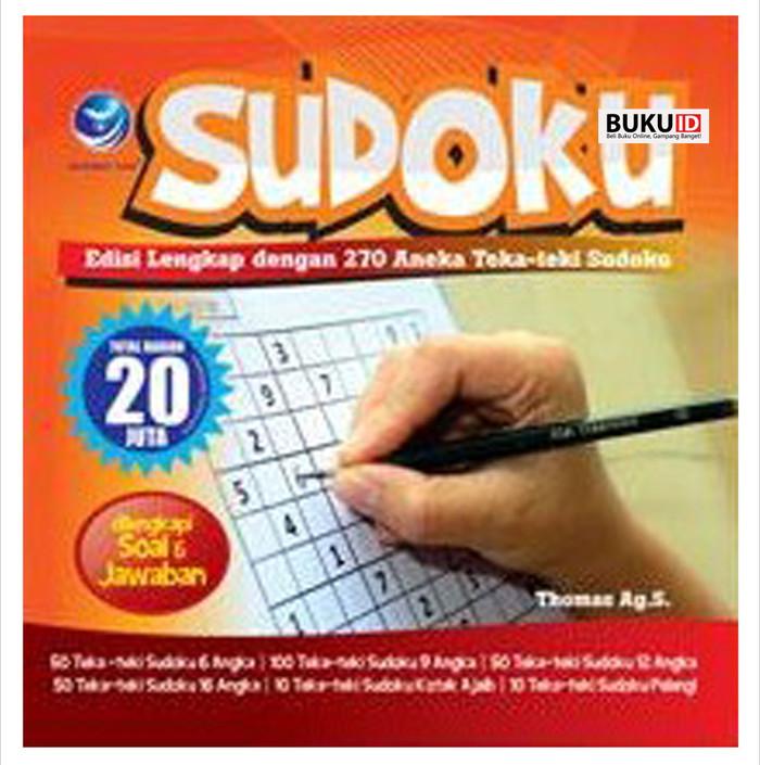 Foto Produk Buku Sudoku: Edisi Lengkap dengan 270 Aneka Teka-Teki Sudoku dari Buku ID