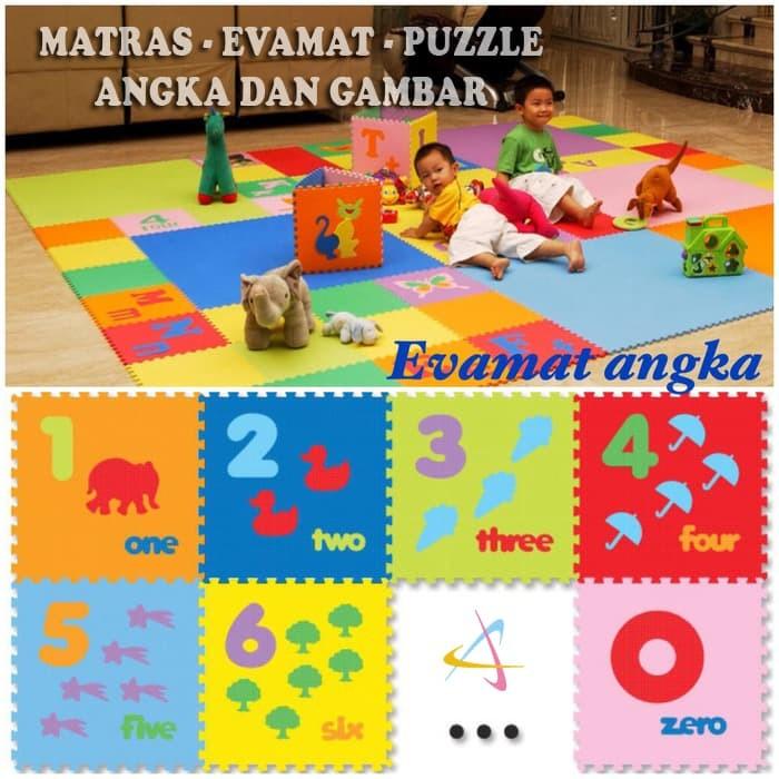 EVAMAT / MATRAS / TIKAR / KARPET / PUZZLE / ALAS ANGKA BERGAMBAR