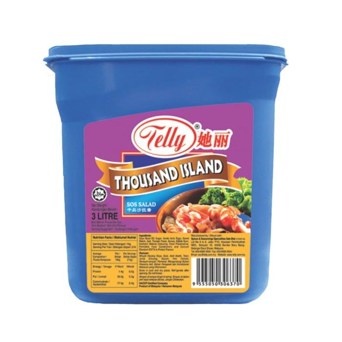 telly thousand island 3 liter