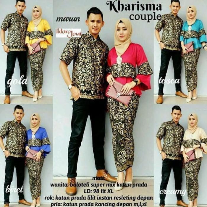 Jual Best Baju Batik Kharisma Couple - Termurah!!! - Rumah B tik ... 0db9d31cec