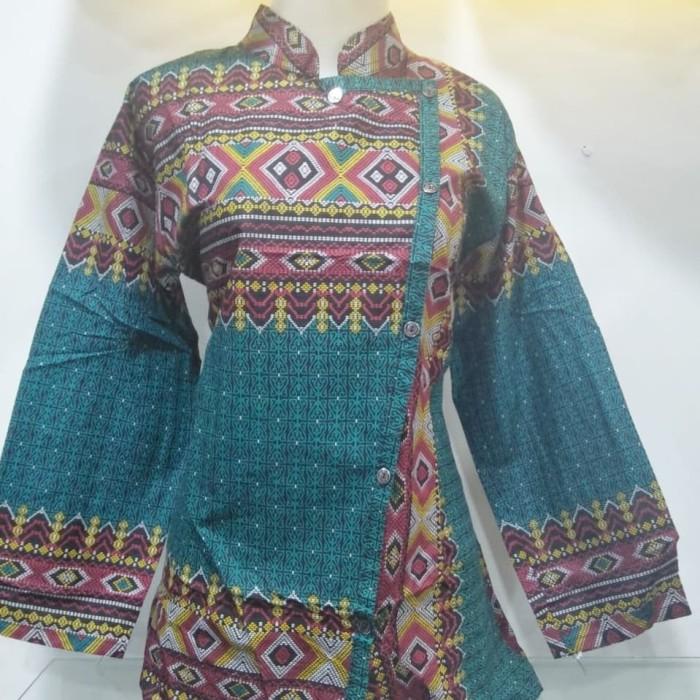 harga Blus batik murah   blouse   kemeja wanita   batik terbaru Tokopedia.com
