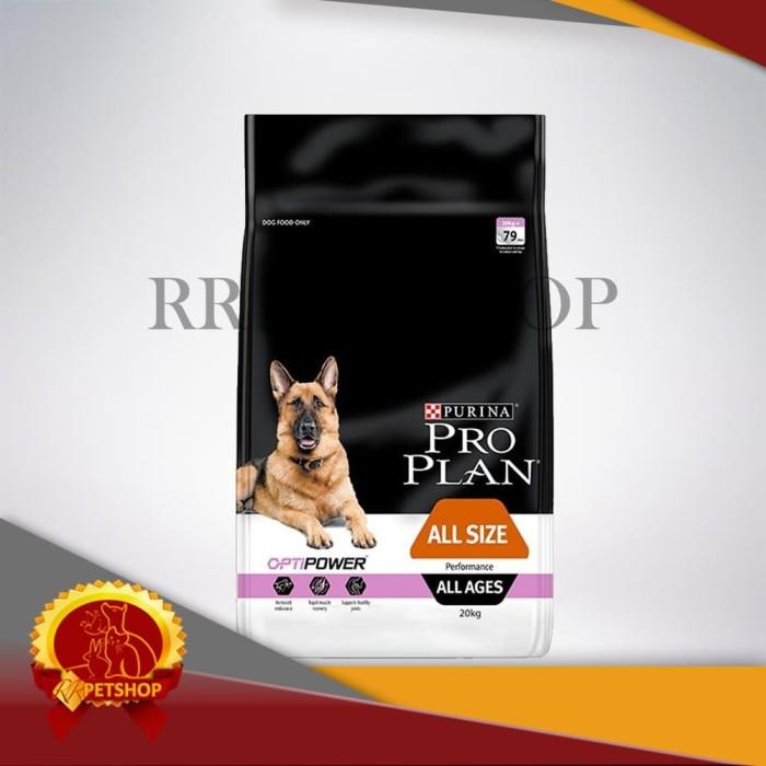 Makanan Anjing Pro Plan Performance 20 Kg / Optipower Proplan 20Kg