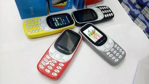 harga Hape murah dual sim brand code brandcode b3310 original garansi resmi Tokopedia.com