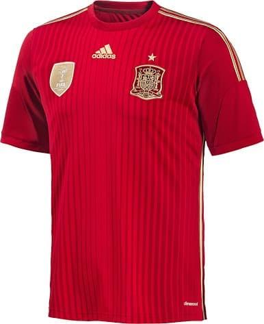 Foto Produk jual jersey bola GRADE ORI Spain Home World Cup 2014 Official Nike dari koleksi baju couple