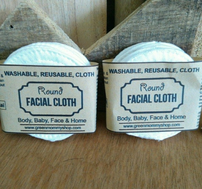 Foto Produk Facial cloth round white dari Green Mommy Shop
