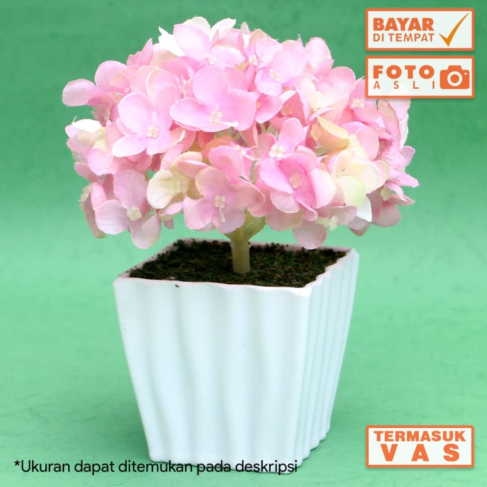 Bunga Artificial Hortensia Hydrangea Import Murah - Daftar Harga ... d787bf3403