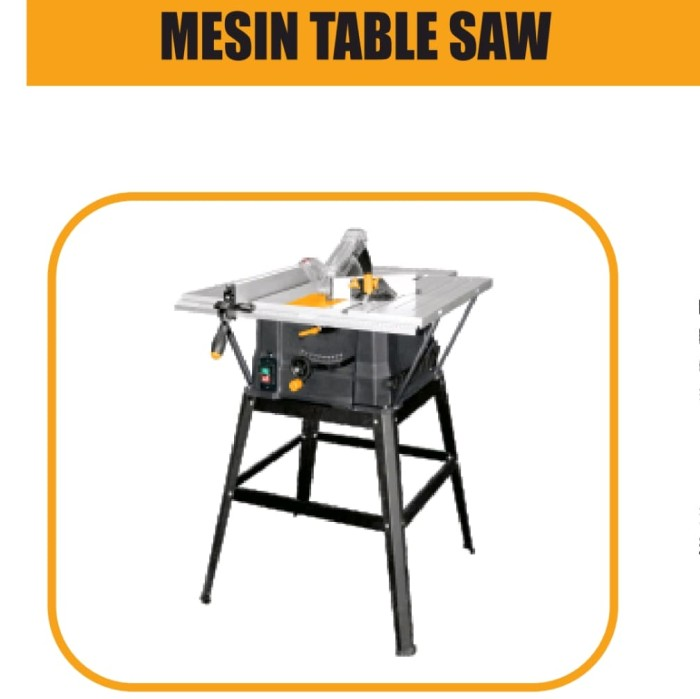 harga Ingco 10 inch table saw heavy duty - mesin gergaji meja Tokopedia.com