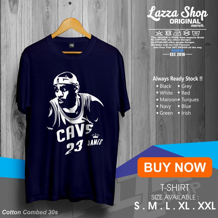 f9ce9cce6087 Jual Kaos   Baju   Tshirt Basket   Lebron James Art   NBA   Keren ...