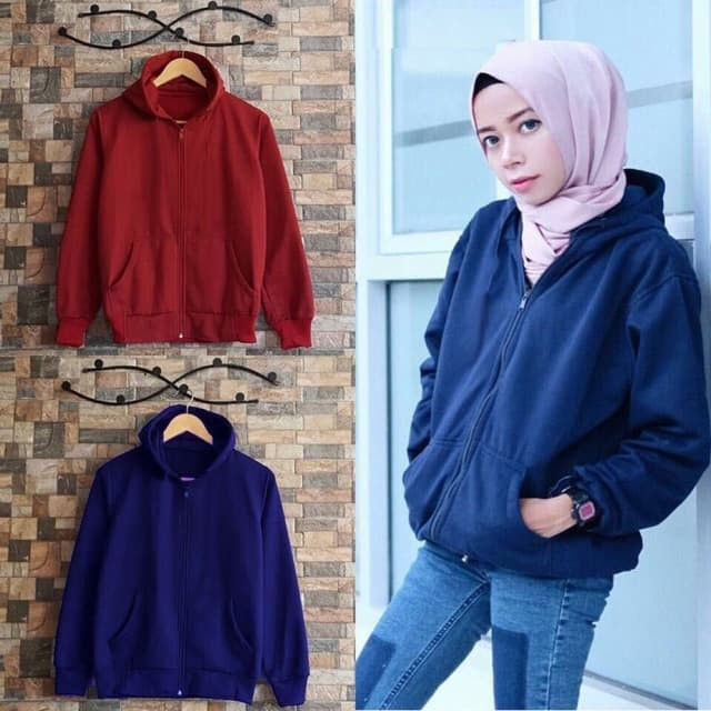 Clairestore Sweater Wanita Crop Hoodie Sella Tali Merah - Smart4K ... 2d2dd0b77f