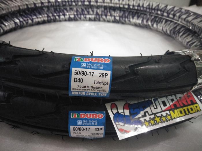 harga Ban luar duro ring 17 depan & belakang Tokopedia.com