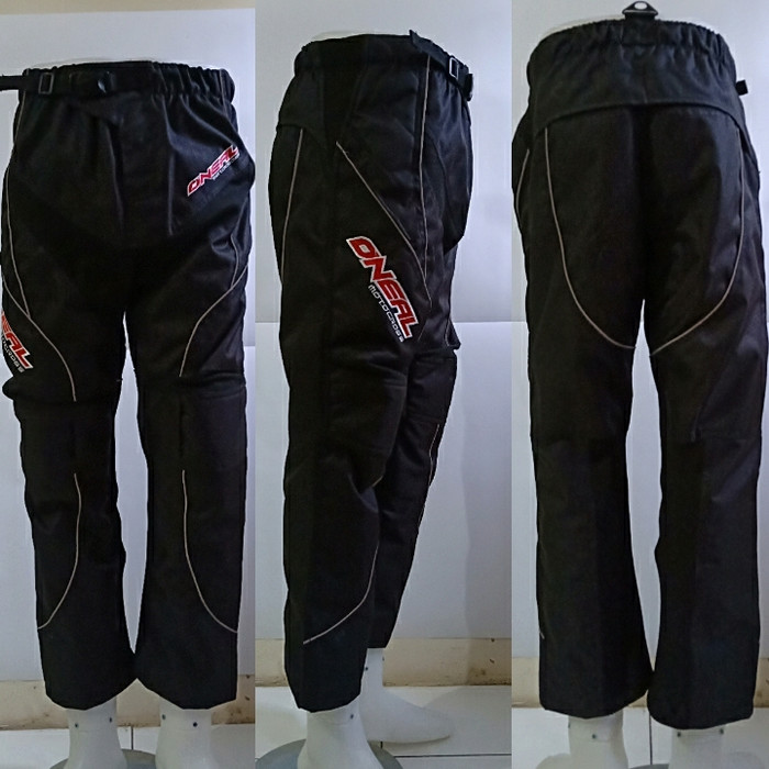 ... harga Go sports celana trail cross motocross adventure codura hitam  oneal Tokopedia.com b2648260bc