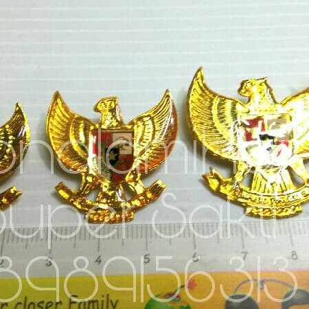 Jual Pin Bros Kecil Seri Burung Garuda Pancasila Indonesia