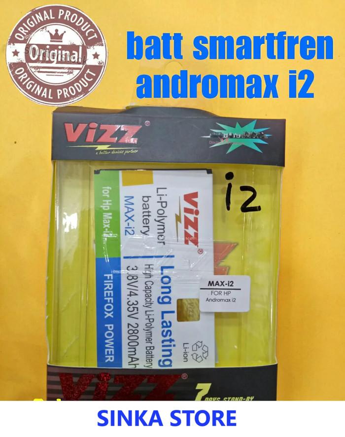 Battery Baterai Batre Double Power VIZZ Smartfren Andromax I2