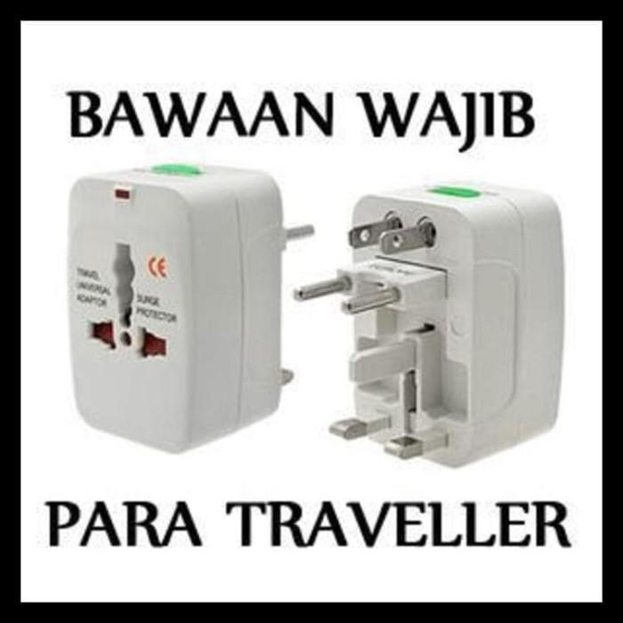 Universal Travel Adaptor - Colokan Steker Listrik Multi International