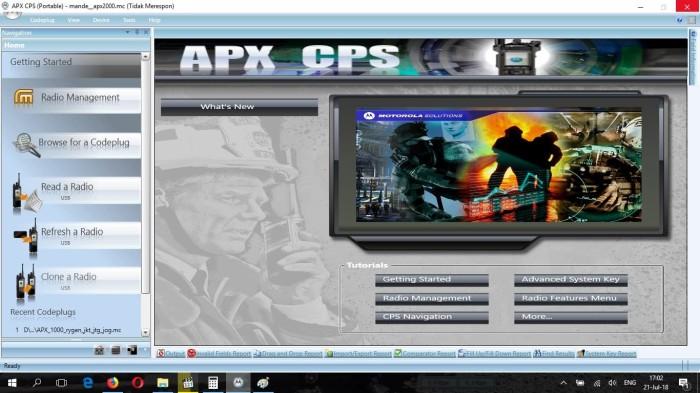 Jual Copy CD software Motorola APX series R18 - Kab  Semarang - Telomoyo  Shop | Tokopedia