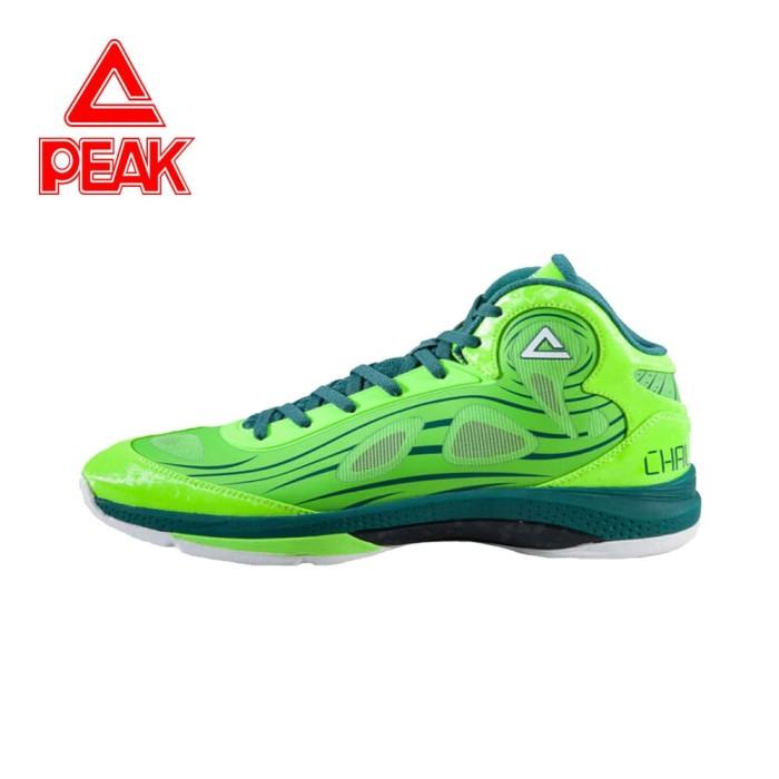 7af1cefdf840 Peak Sepatu Basket Challenger Iv Original 100% - E51041a - blanja.com