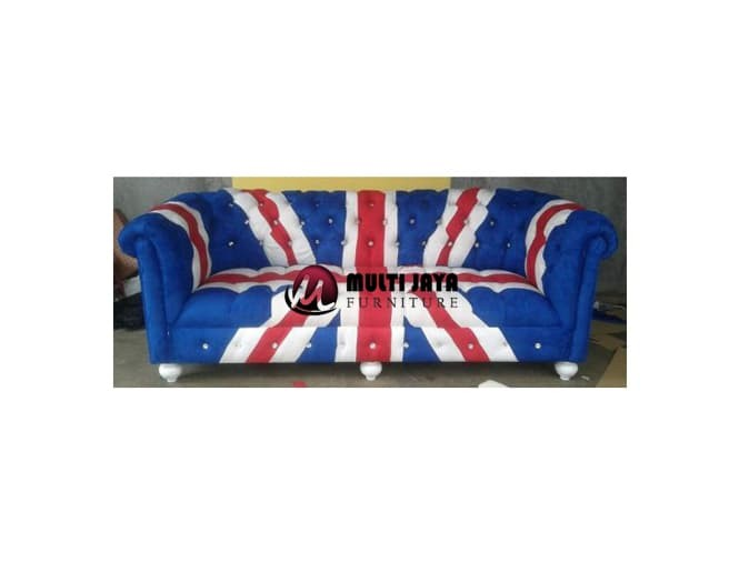 Jual Sofa Chesterfield Sofa Union Jack Sofa Inggris Sofa London