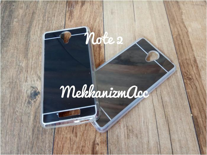 harga Xiaomi redmi note 2 note2 case mirror silicon softcase fdt case casing Tokopedia.com
