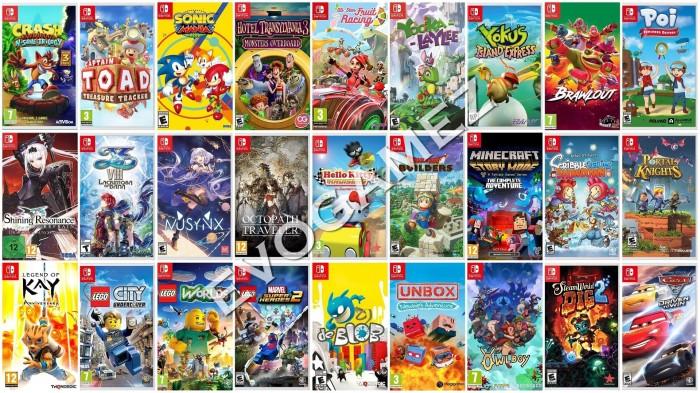 Jual Isi Game Nintendo Switch CFW SXOS ReinX Hekate - Kota Surabaya -  Evo Gamez | Tokopedia