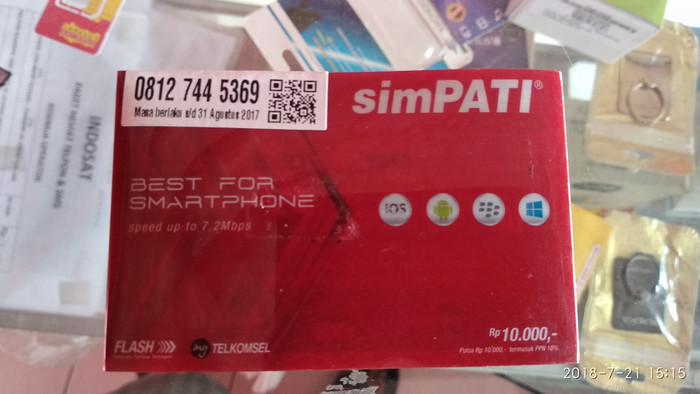 Foto Produk Nomor cantik simpati 11 digit hoky 0812 7445 369 dari Savix Perdana