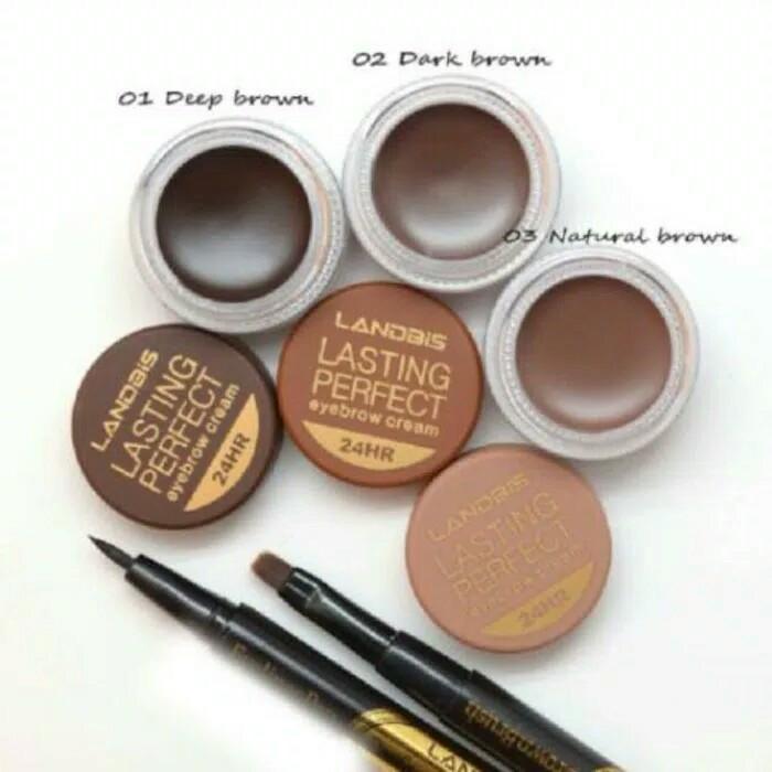 harga Pensil alis landbis eyebrow gel 3in1 eyeliner eye brow liner+brush Tokopedia.com