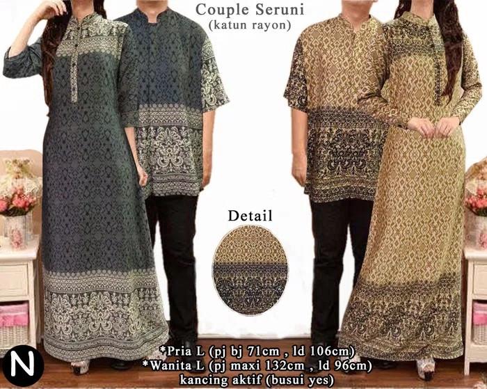 Info Batik Couple Longdress Baju Hargano.com