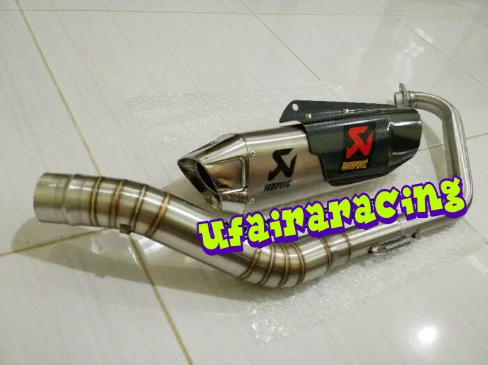 harga Knalpot racing fulsistem for yamaha mx king /new jupiter mx 135 Tokopedia.com