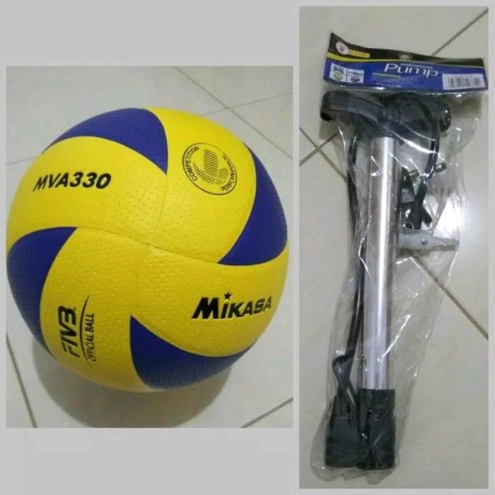 Jual bola volley voly volly voli mikasa mva330 bintik murah Limited ... 16a36a1675