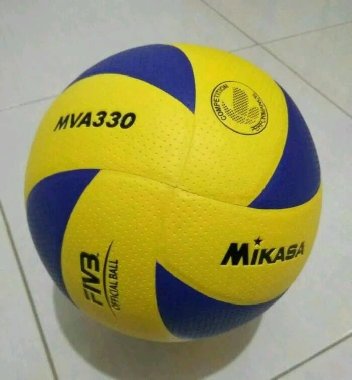Jual bola volley voli volly voly mikasa mva330 bintik murah Murah ... 2c556bcd4b