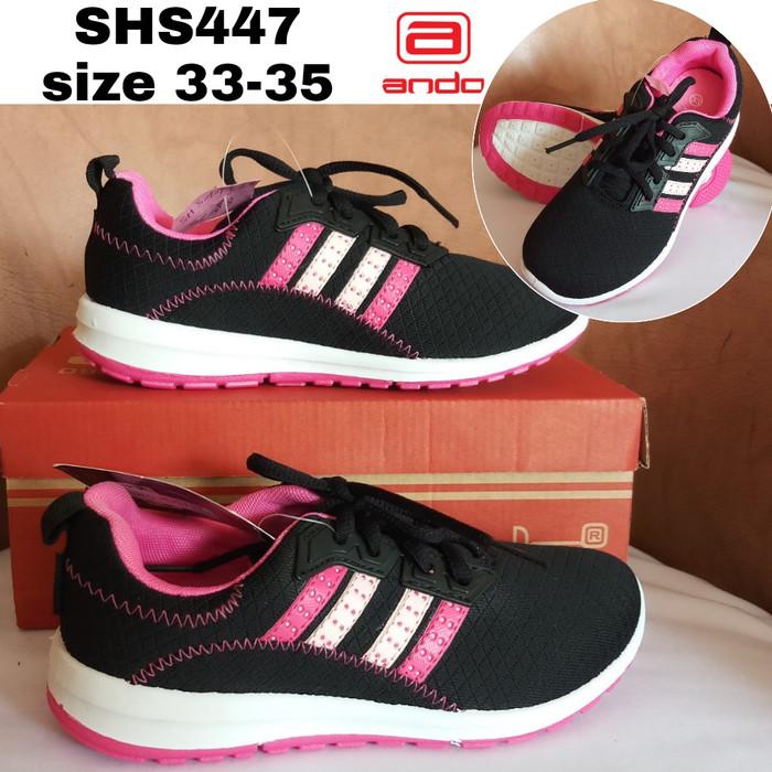Jual Sepatu Kets Ando Cewek Sepatu Sneakers Remaja Putri Shs447