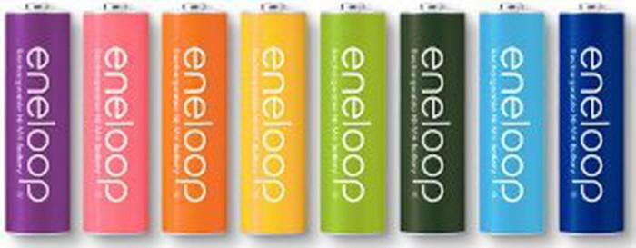 Sanyo Eneloop recharge baterry AA isi 8 - baterai eneloop CBK934