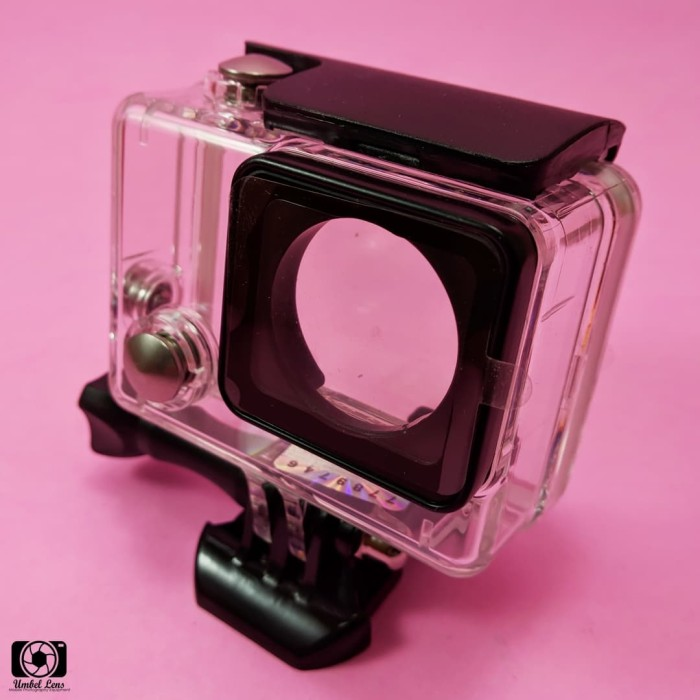 harga Waterproof case / casing anti air gopro hero 4 silver / black Tokopedia.com