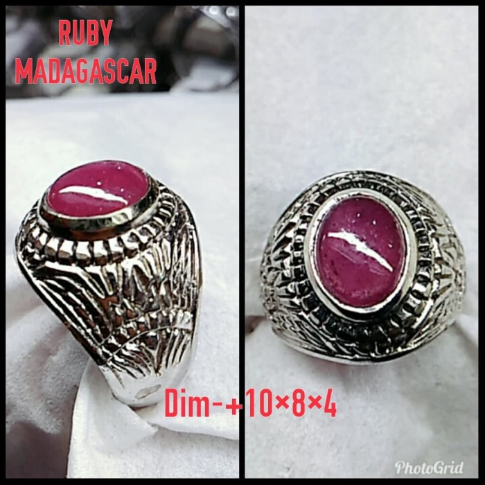 harga Natural batu permata ruby madagascar/ cincin mewah alpaka super Tokopedia.com