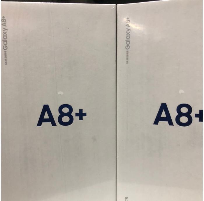 Samsung Galaxy A8+ Plus (2018) - Garansi Resmi - Abu -abu Tua