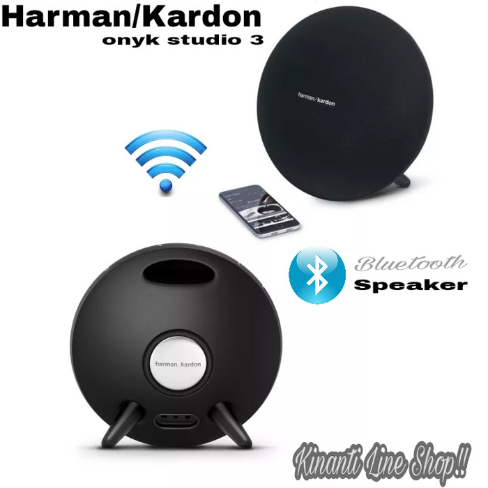 Harman/Kardon Onyk Studio 3 Speaker Bluetooth Portable High Quality